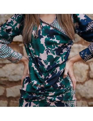 PRINT FLORAL  DRESS
