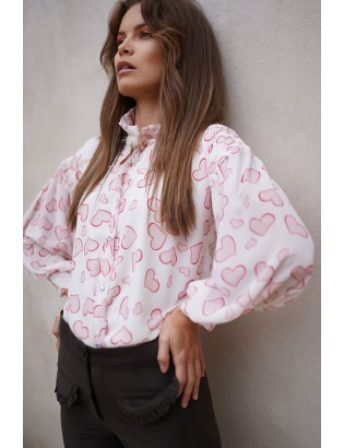 PRINTED GEORGETTE BLOUSE