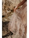 NUDE EMBELLISHEMENT DRESS