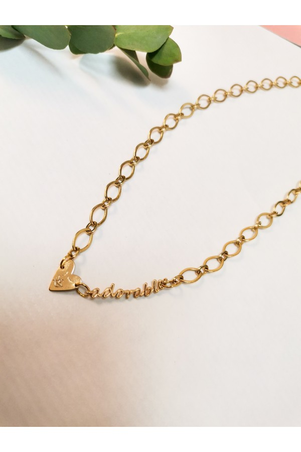 ADORABLE CHAIN NECKLACE